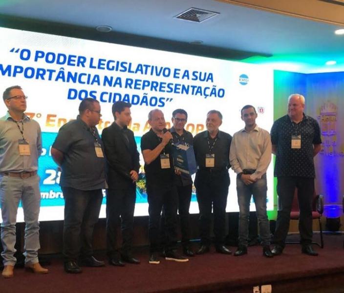 Verador Portinho foi homenageado em evento da ACAMOP | Fotos: Assessoria |